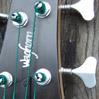 Waghorn Guitars Custom Bass Guitars